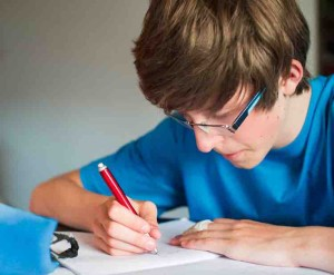Dyslexic student hones his study skills at Syllables