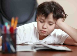 Frustration during reading is one of the signs and symptoms of dyslexia.