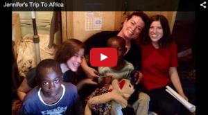 Jennifer taught reading to the boys of the Kibera Slums