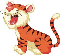 Growing r tiger helps teach r-controlled vowels.