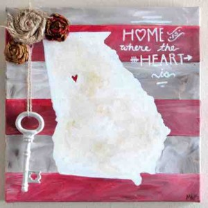 Home by Inklings and Hues artist Meghan Ambrose
