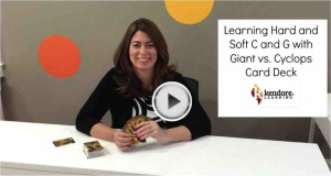 Jennifer Hasser demonstrates games that teach hard and soft c and g rules.
