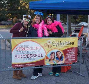 The Syllables:Kendore team Dyslexia Dash 2015