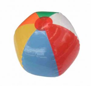 Beachball Toss summer learning activity