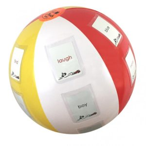 Toss and Teach Beach Ball makes learning fun and effective.